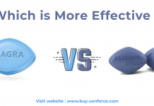 Viagra vs Sildenafil : Which Is More Effective?