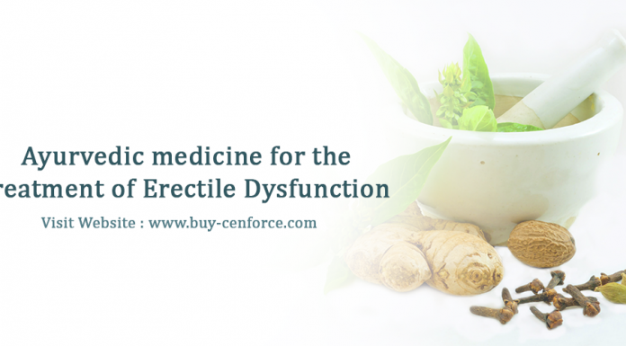 Ayurvedic medicine for the treatment of erectile dysfunction