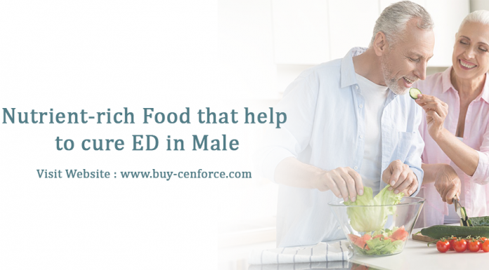 Nutrient-rich Food that helps to cure ED in male