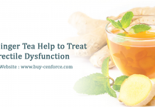How ginger tea helps to treat erectile dysfunction