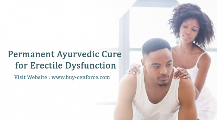 Permanent ayurvedic cure for erectile dysfunction