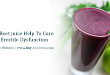 Is beet juice help to cure erectile dysfunction