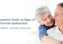 The Complete Guide on Signs of Erectile dysfunction