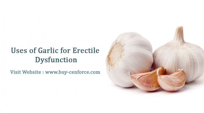 Is garlic can cure erectile dysfunction problem