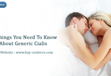 All Things You Need To Know About Generic Cialis